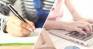 prise de notes : main ou ordinateur