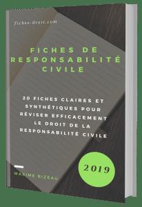 Couverture 3D - Fiches responsabilité civile
