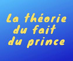 théorie du fait du prince