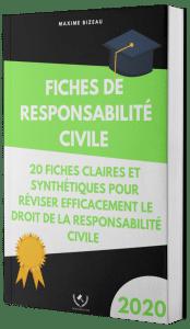 Couverture 2020 3D - Fiches de responsabilité civile