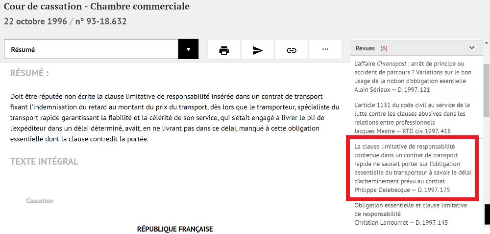 commentaire de Philippe Delebecque